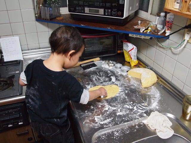 スミス英会話大津校 Let's bake cookies!