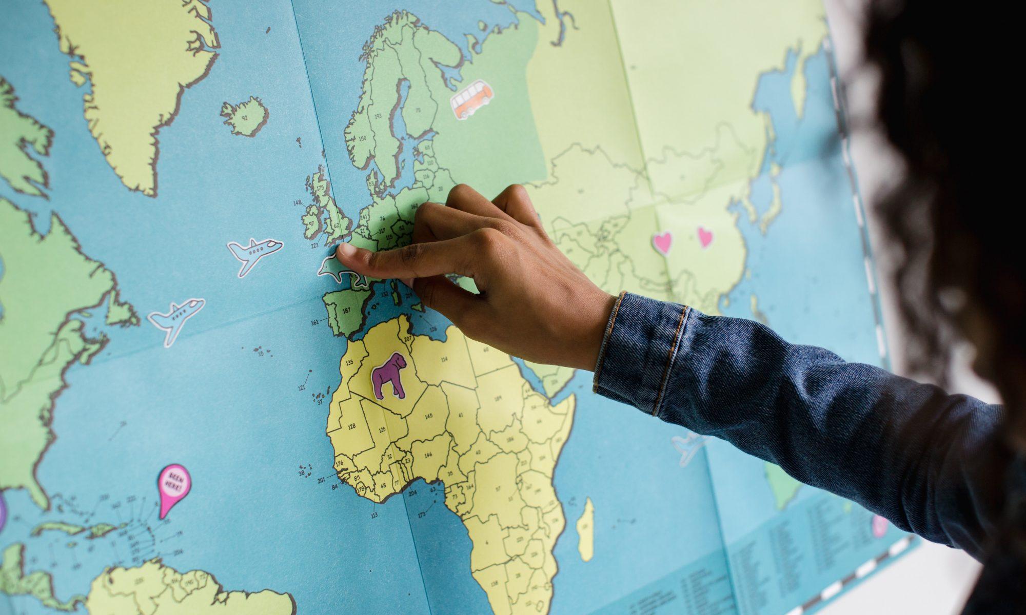 留学先に人気 の3カ国をご紹介