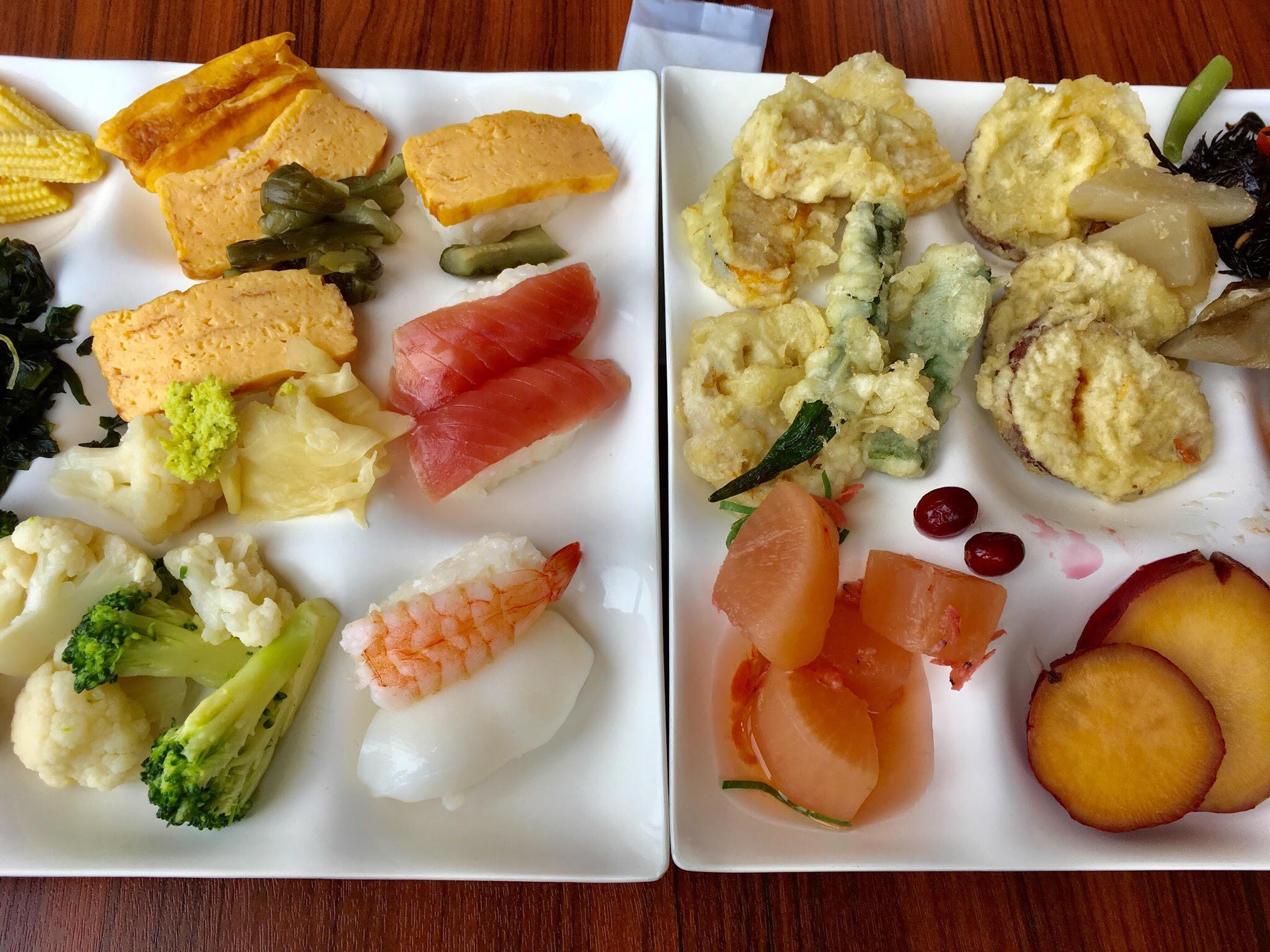 クオリティの高い日本食